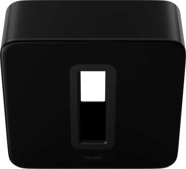Subwoofer activ amplificat Sonos SUB GLOSSY BLACK, Wireless, 150W RMS, Negru