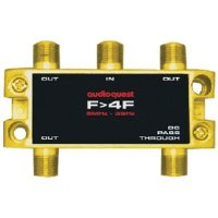 Splitter RF Audioquest F to 4F 75Ω Splitter, 1 IN - 4 OUT