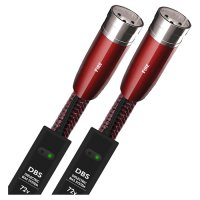 Cablu audio 2XLR - 2XLR AudioQuest FIRE, 0.75m, DBS Carbon 72V inclus