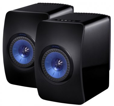 Boxe active KEF LS50 Wireless Piano Black Gloss