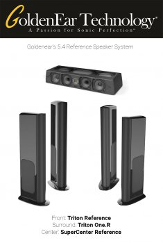 Pachet boxe 5.1 Reference cu Goldenear Triton Reference, SuperCenter Reference si Triton One.R