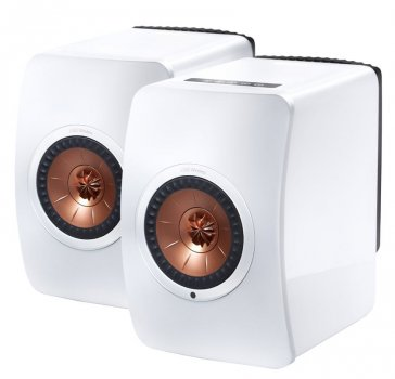 Boxe active KEF LS50 Wireless Piano White Gloss