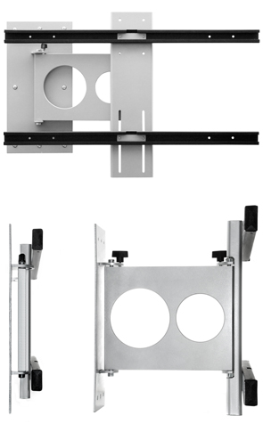 "LICHIDARE STOC ->Suport TV Perete Brat Flexibil Multibrackets,Gri,35""-46""(88-117cm),40 kg"