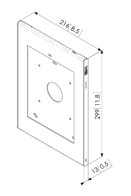 RESIGILAT  Carcasa de siguranta TabLock Vogels PTS1214 pentru iPad Air