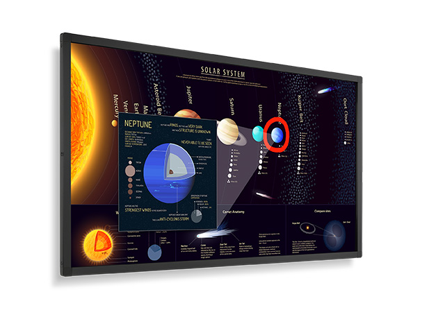 Display Touch Nec E651-T, 65, 400 cd/m2