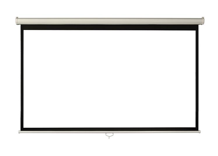 Ecran proiectie perete/tavan Blackmount, marime vizibila: 300cm x 169 cm, manual, Format 16:9