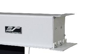 Ecran proiectie tensionat electric Elitescreens Evanesce Tab Tension B, 265.7cm x 149cm, incastr. in tavan, Format 16:9