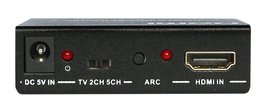 Extractor audio HDMI 1.4 -> HDMI+Toslink (SPDIF optic) + Audio Stereo 3.5mm jack out, EVOCONNECT M903U