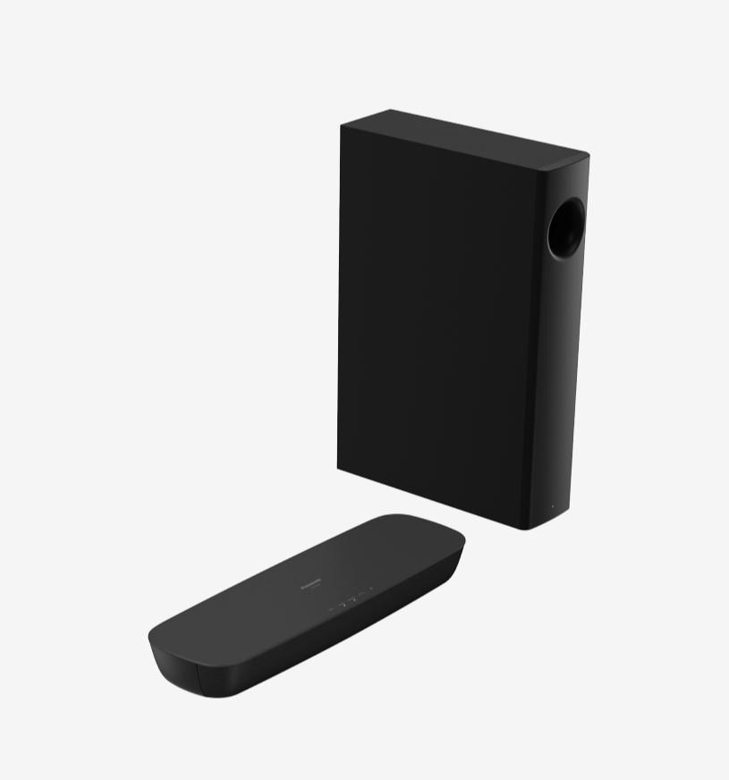 Soundbar Panasonic SC-HTB250, 2.1 ch., 120 W (30+30+60 W), wireless subwoofer