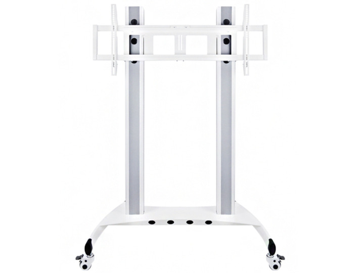 "LICHIDARE STOC : - > Stand TV podea LCD/LED Public HD Multibrackets 7563, Alb, 60-90"", max.90 kg"