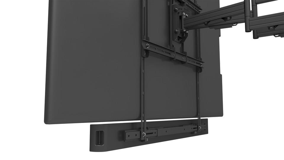 Suport universal Multibrackets 2876 pentru Soundbar si camera, inaltime ajustabila, max. 10 kg, negru