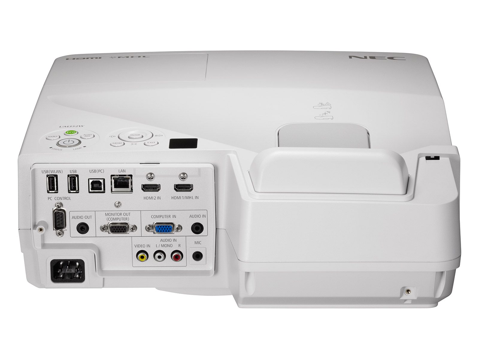 Videoproiector Profesional Ultra Short Throw UM352Wi Multi Touch, 3500 Lumeni, 1280x800