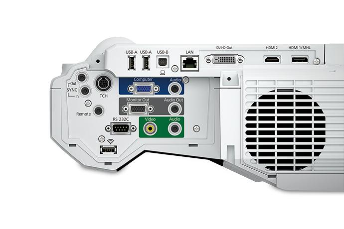 Videoproiector EPSON EB-1460Ui Ultra Short Throw, Full HD 1920 x 1080, 4400 lumeni, contrast 16000:1