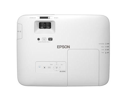 Videoproiector EPSON EB-2255U, wireless, WUXGA 1920 x 1200, 5000 lumeni, contrast 15000:1