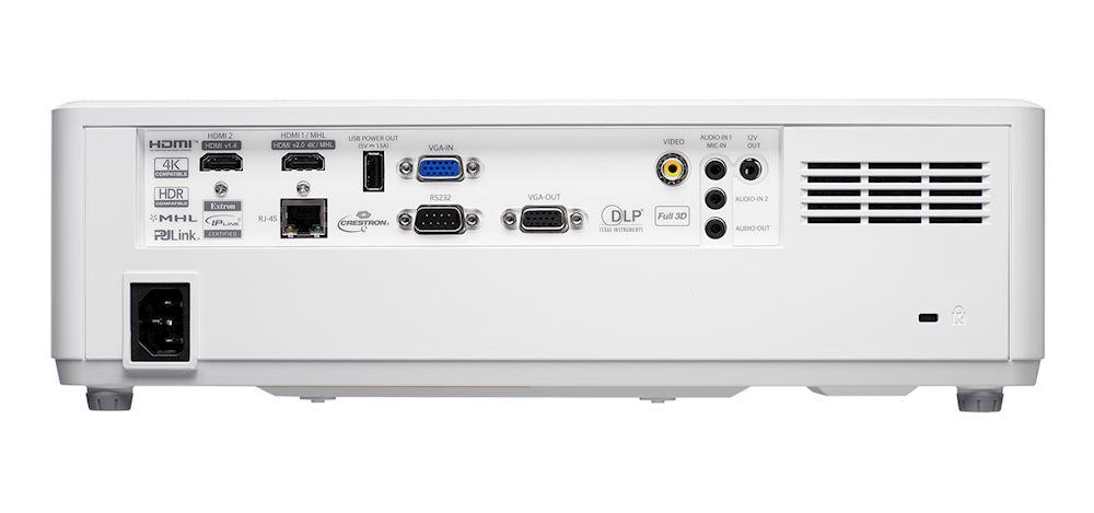 Videoproiector OPTOMA Laser ZH606e, Full HD 1920 x 1080, 6300 lumeni, contrast 300.000:1, Alb