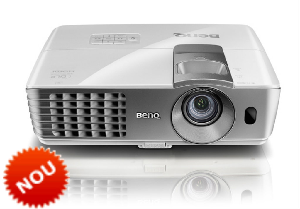 OPEN BOX Videoproiector HOME CINEMA Benq W1070+ 3D Full HD