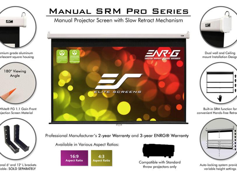 Ecran proiectie Elitescreens SRM