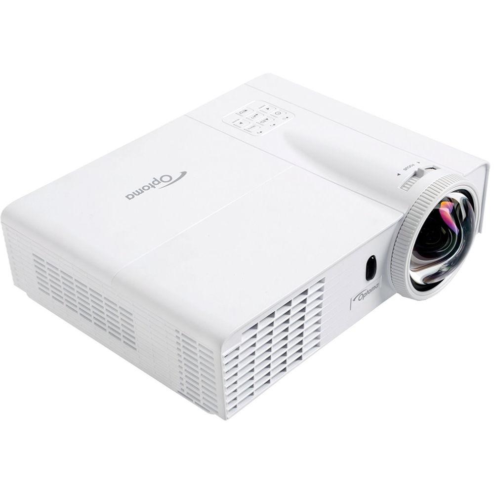 Videoproiector OPTOMA W303ST Short Throw, WXGA 1280 x 800, 3000 lumeni, 18000:1